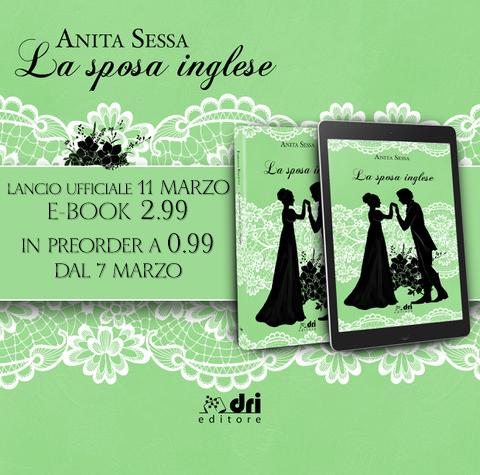 """Cover Reveal """"La sposa inglese"""" di Anita Sessa"""