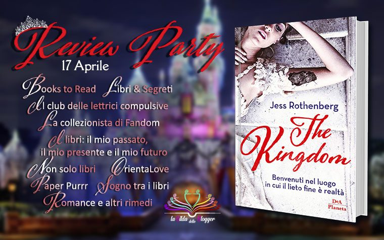 "Review Party ""The Kingdom"" di Jess Rothenberg"