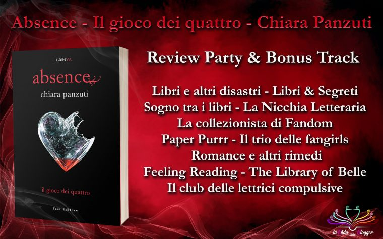 """Absence – Il gioco dei quattro"" di Chiara Panzuti – Review Party & Bonus Track"