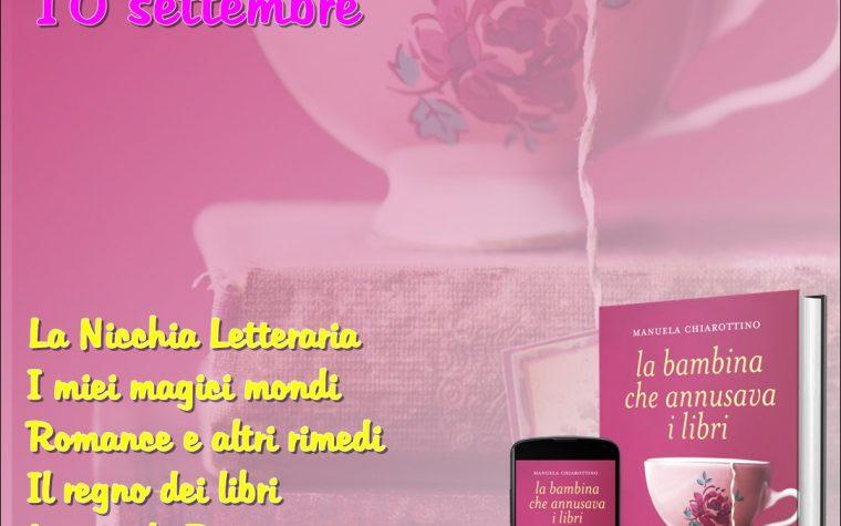 """""""La bambina che annusava i libri"""" di Manuela Chiarottino – Review Party"""
