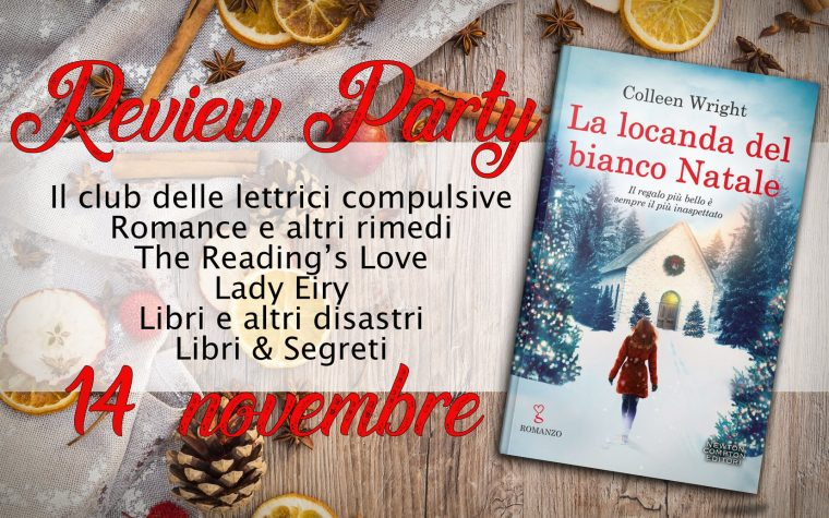 """La locanda del bianco Natale"" di Colleen Wright – Review Party"