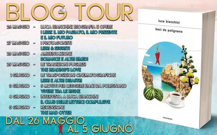 """Baci da Polignano"" di Luca Bianchini – Blog Tour"
