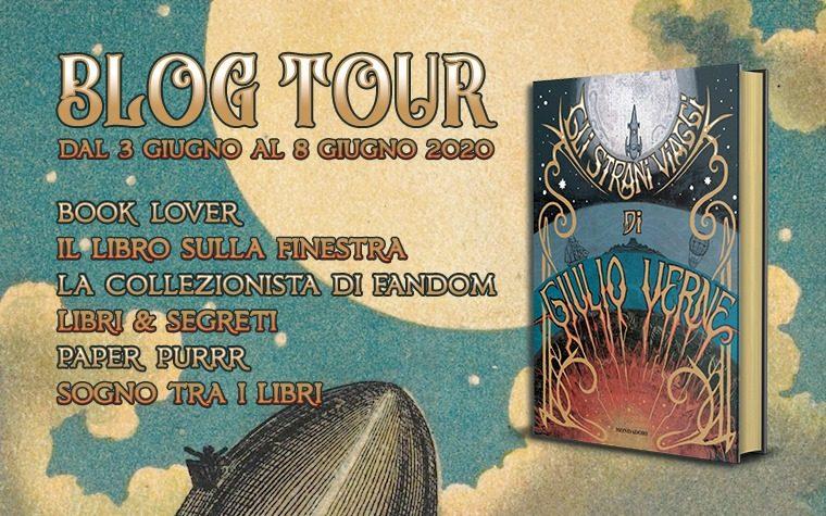 """""""Gli strani viaggi di Giulio Verne"""" – Blog Tour"""