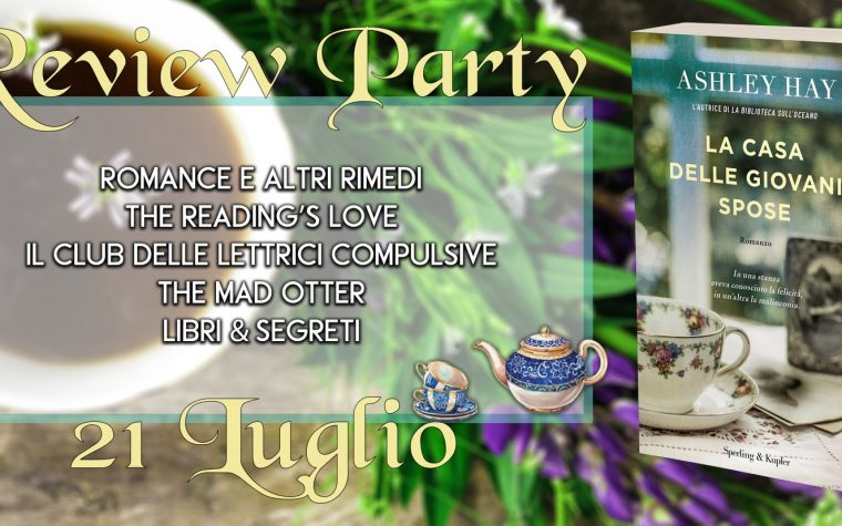 """La casa delle giovani spose"" di Ashley Hay – Review Party"