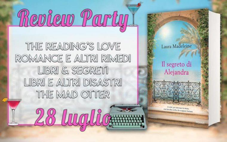 """""""Il segreto di Alejandra"""" di Laura Madeleine – Review Party"""