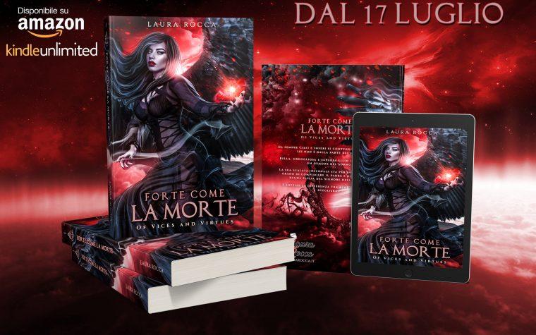 """""""Forte come la morte"""" di Laura Rocca – Cover Reveal"""