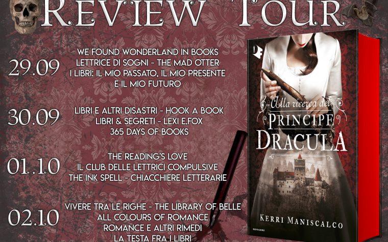 """""""Alla ricerca del principe Dracula"""" di Kerri Maniscalco – Review Tour"""