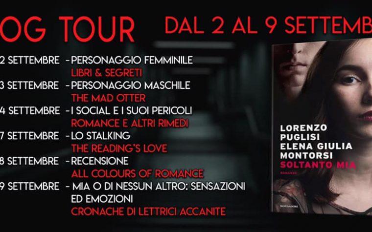 """""""Soltanto mia"""" di L. Puglisi e E.G. Montorsi – Blog Tour – Personaggio femminile"""