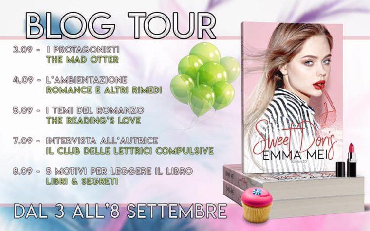 """Sweet Doris"" di Emma Mei – Blog Tour – 5 motivi per leggere il libro"